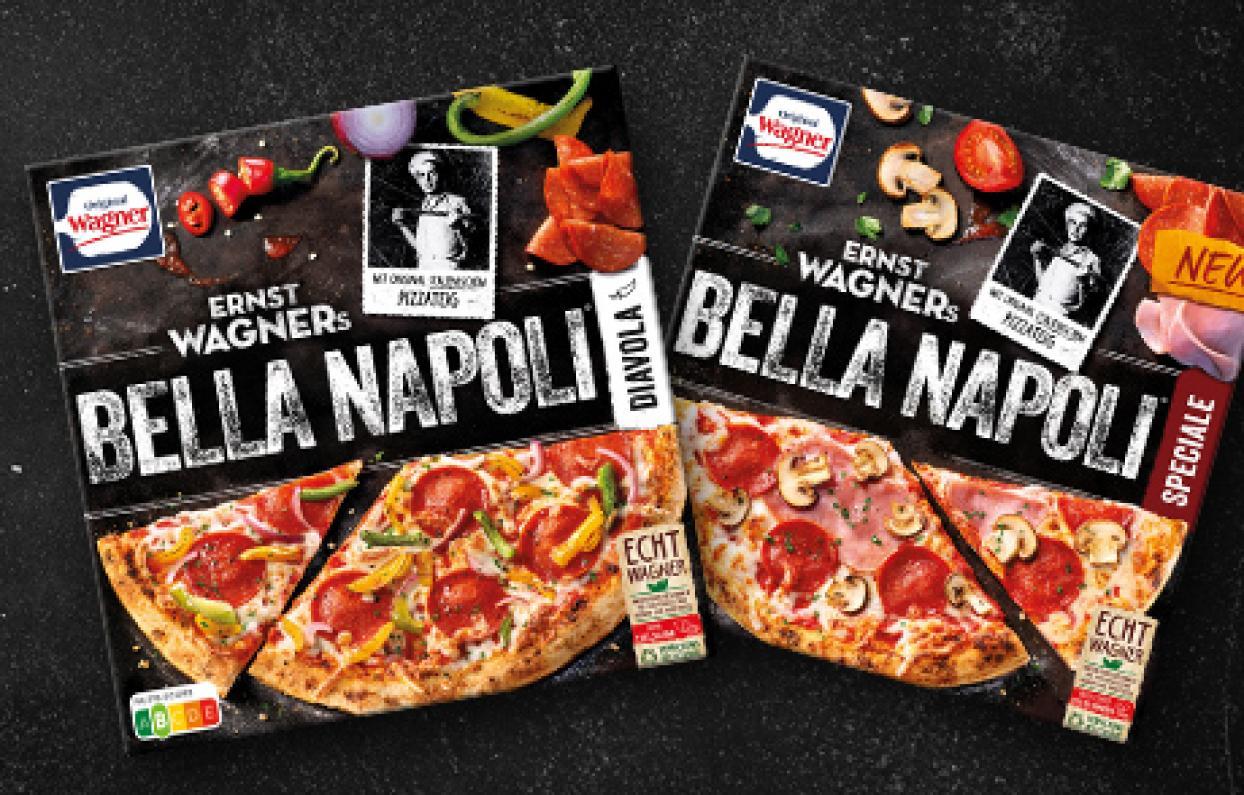 [Regional Rewe] Wagner Bella Napoli Pizza versch. Sorten mit Coupon für 1,99€