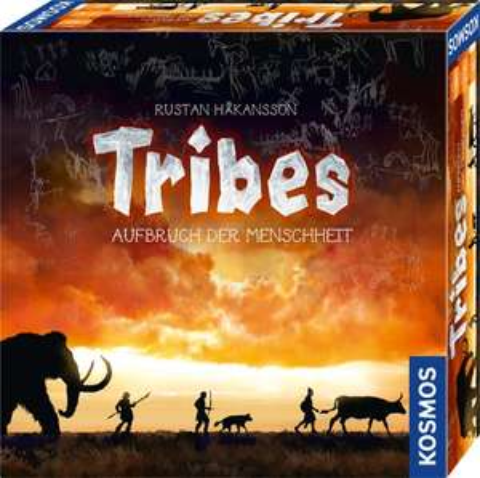 Tribes - Aufbruch der Menschheit (Brettspiel, ab 10 Jahren, 2-4 Spieler)