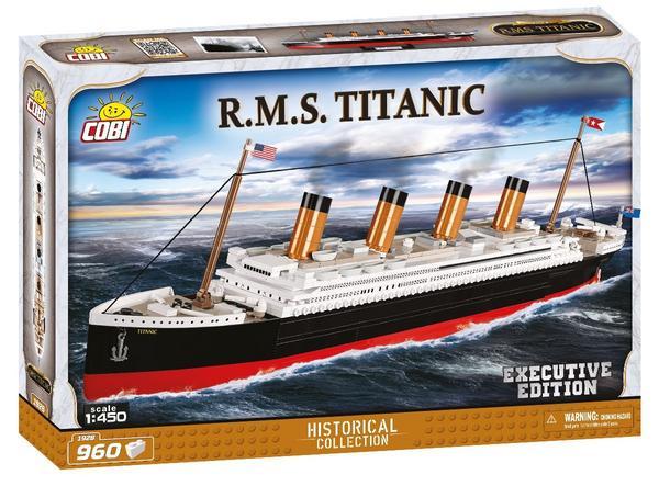 [Klemmbausteine] COBI Historical Collection - R.M.S. Titanic Executive Edition (1928) für 41,39 Euro vorbestellbar [Thalia-Newsletter]