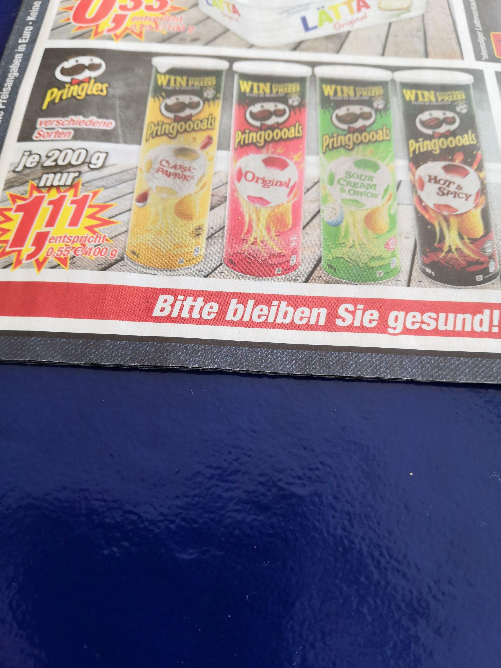 Pringles für 1,11€ bei Posten-Börse vom 15.2-20.2.
