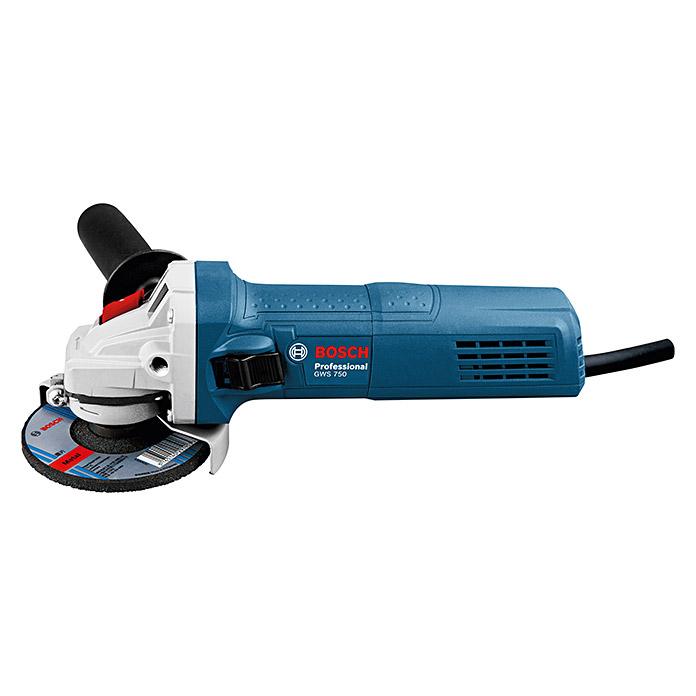 Bosch GWS 750 Professional Winkelschleifer, 750 Watt, Scheibendurchmesser 125mm, für 49,99 [Globus Baum.] und für 43,99 Euro [Bauhaus TPG]