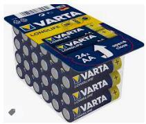 VARTA 24er Pack Longlife AAA Batterien + bis zu 20% Zusatzrabatt