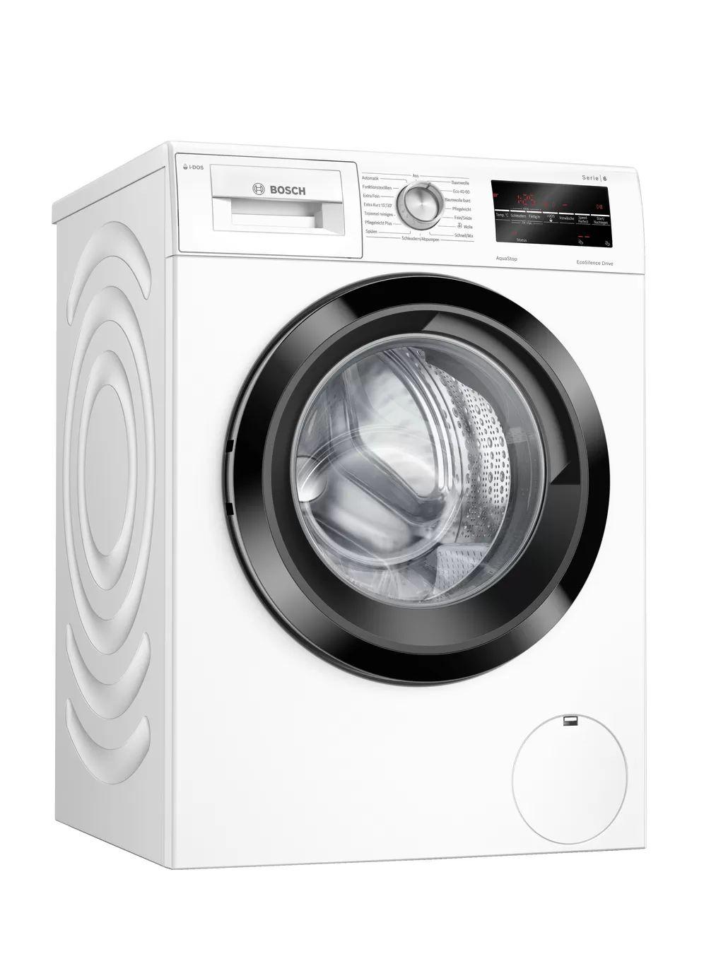 Bosch WAU 28 SIDOS Waschmaschine (9kg, 1400 U/Min, A+++, Aqua Stop, Dosierautomatik, Nachlegefunktion, Kindersicherung, 41/71dB)