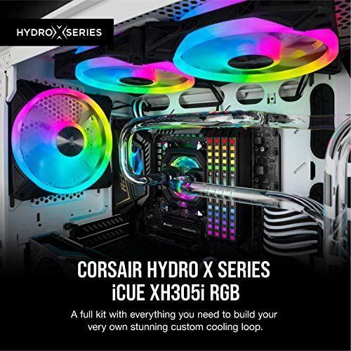 Corsair Hydro X Series, iCUE XH305i RGB Custom Cooling Kit Black