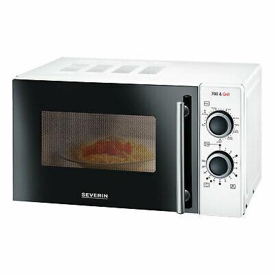 Severin MW 9283 Mikrowelle Microwave mit Grillfunktion Auftauen Timer 2in1 20 L
