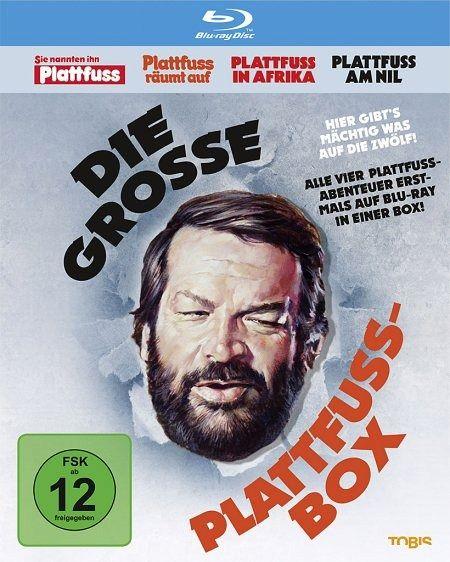 Bud Spencer - die grosse Plattfuss-Box Blu Ray bei bücher.de