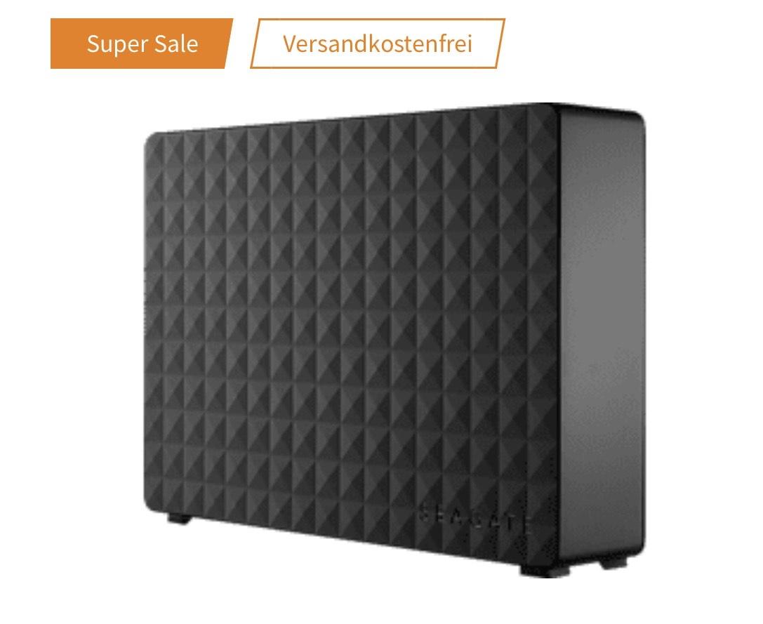 Seagate Expansion Desktop 8TB (14,40€/TB, externe HDD, 3.5, USB 3.0)