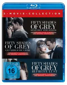 Fifty Shades of Grey 3-Movie Collection Bluray