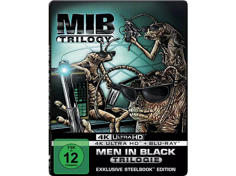 Men in Black 1-3 (Steelbook) 4K Ultra HD Blu-ray + weitere Blu-ray Boxen im Angebot (Marktabholung) Ghostbuster 1 u. 2 4K für 15,99€