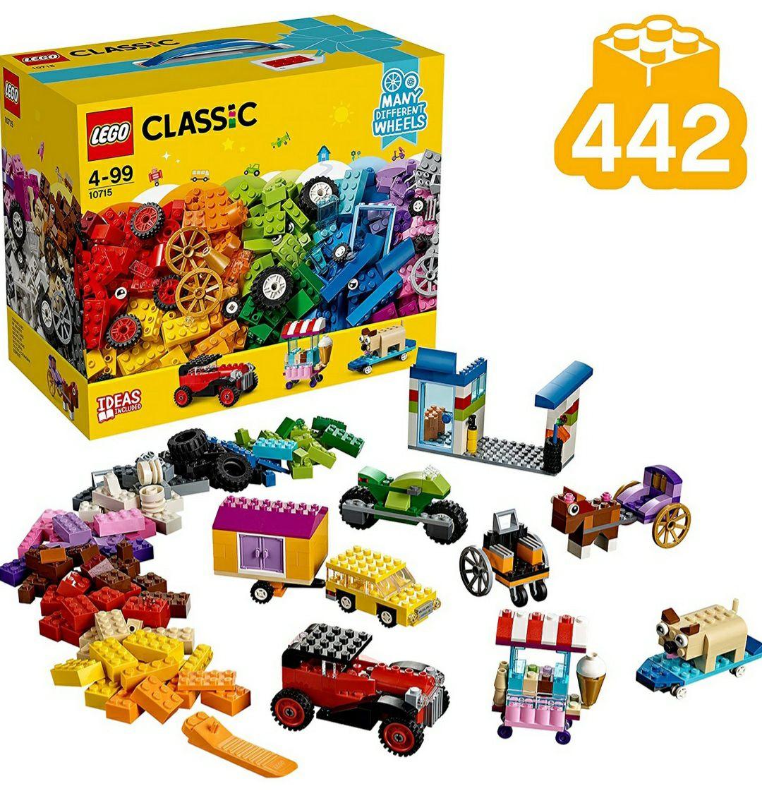 (PRIME) LEGO Classic - Kreativ-Bauset Fahrzeuge 10715