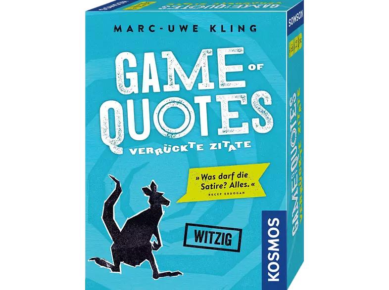 [Saturn Abholung] Brettspiele Sammeldeal, z.B. Kosmos Game of Quotes (ggfls. auch/oder über Amazon Prime verfügbar)