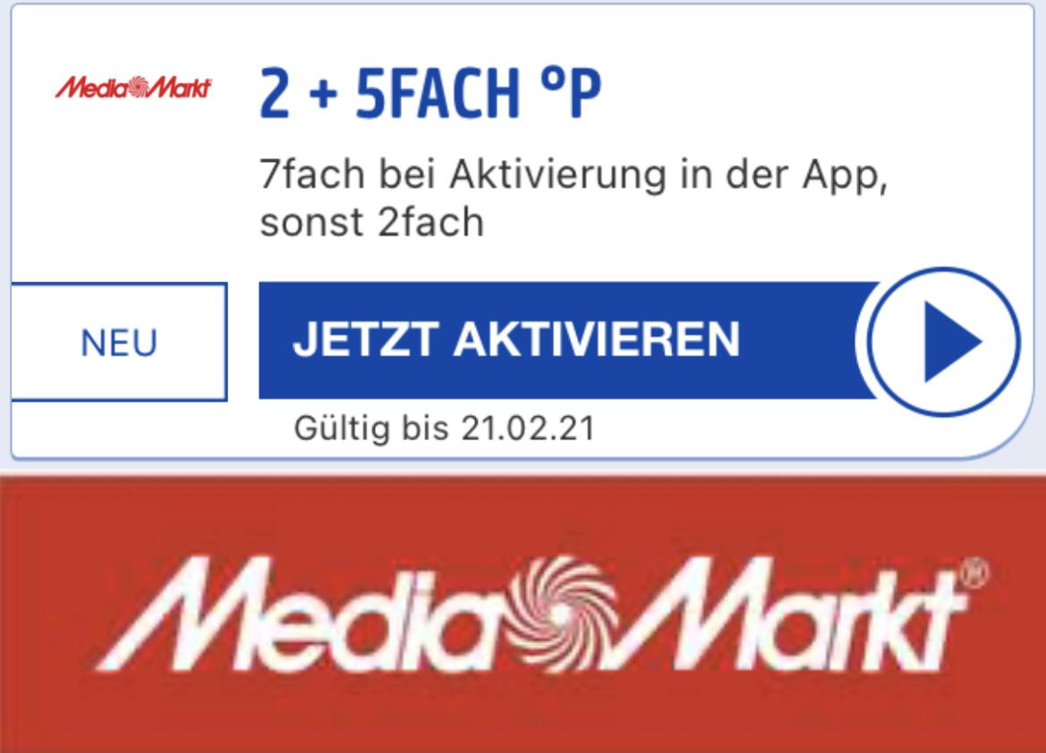 7-fach Payback Punkte bei MediaMarkt - bis 21.02.