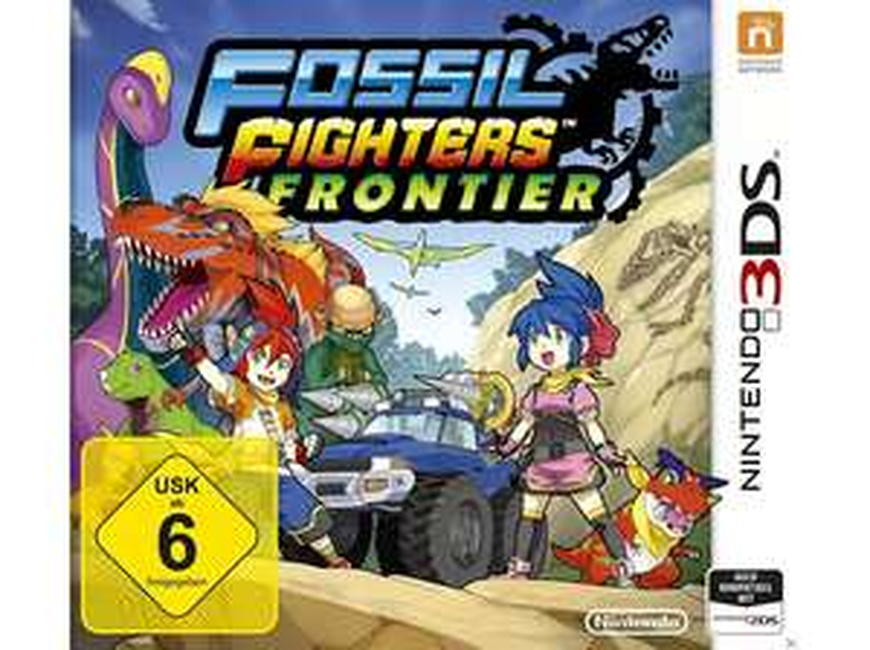 (Saturn / Media Markt Abholung) Fossil Fighters Frontier - [Nintendo 3DS]