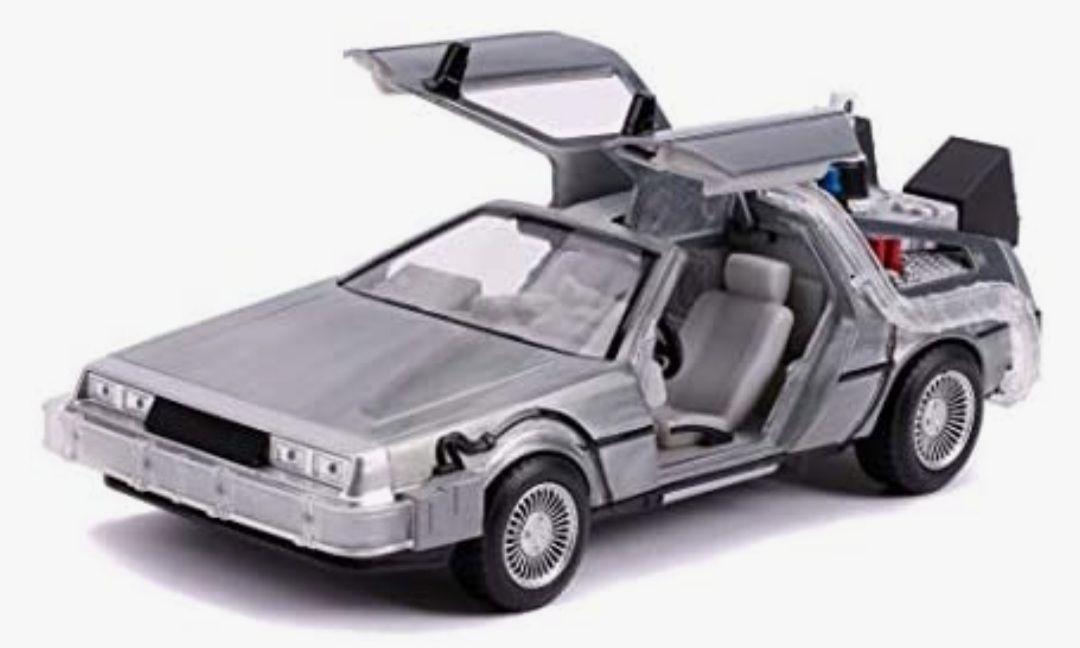 Jada Toys Zurück in die Zukunft 2, Delorean DMC-12 Modellauto, 1:24, Time Machine Amazon Prime