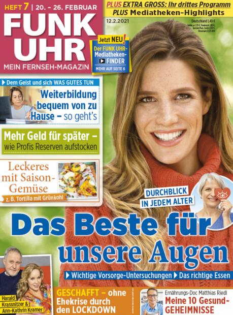 4 Ausgaben FUNK UHR (TV-Zeitschrift) gratis frei Haus + selbstkündigend