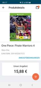 One piece Pirate Warriors 4 PS4/SWTICH