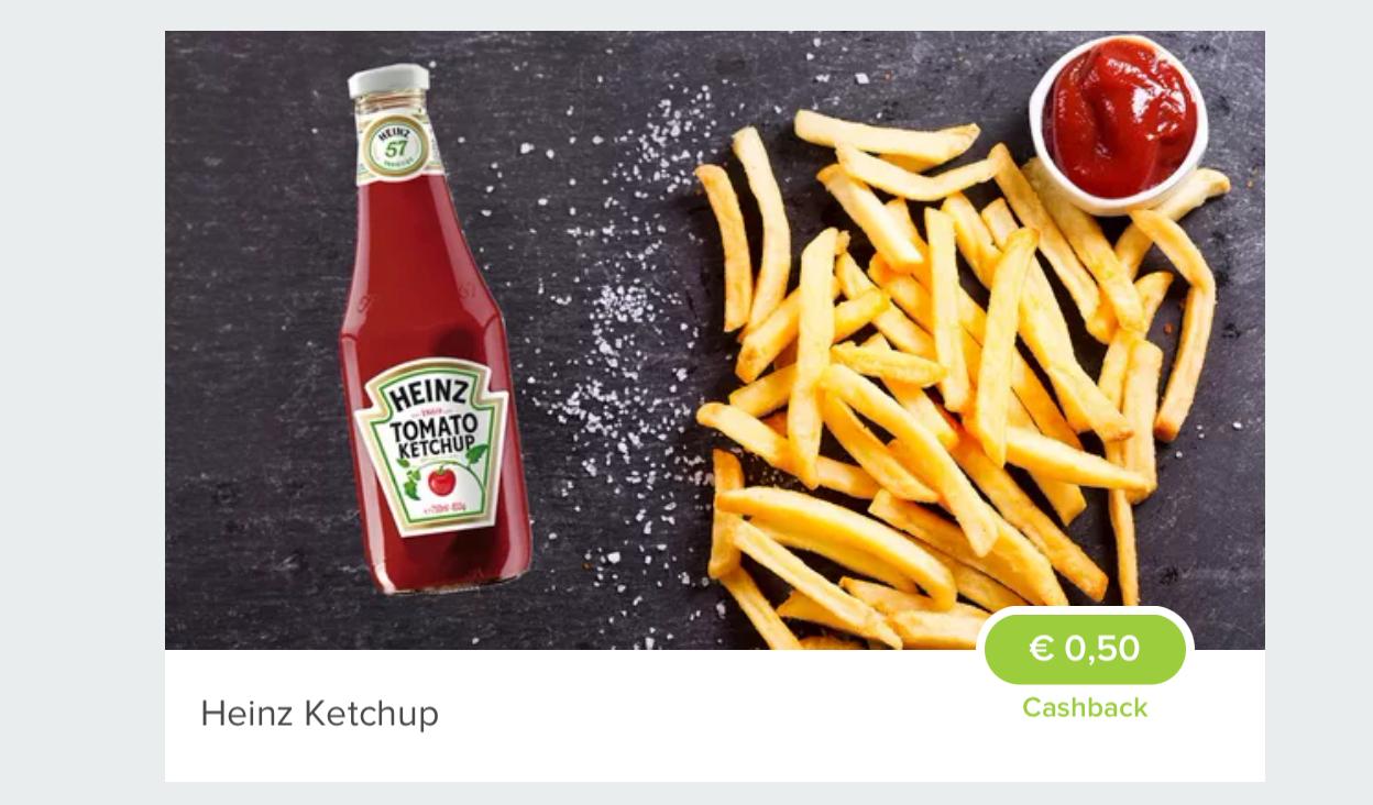 [Marktguru] 0,50€ Cashback auf Heinz Ketchup (effektiv 1,99€/800ml)