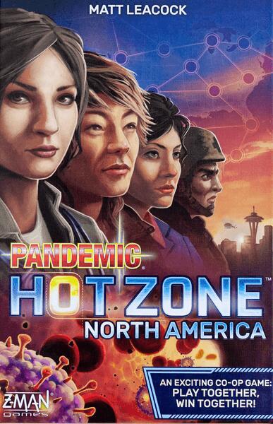 [Saturn] Pandemic (Pandemie) Hot Zone Nordamerika - Brettspiel