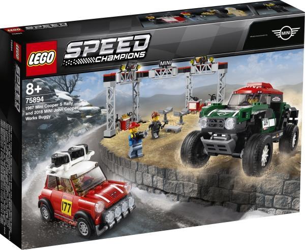 [ThaliaApp] LEGO Speed Champions 75894 Mini Cooper [EOL, lieferbar in 3 Wochen]