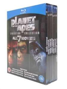 "Blu-Ray Box - Planet der Affen ""Evolution Collection"" für 22,99€"