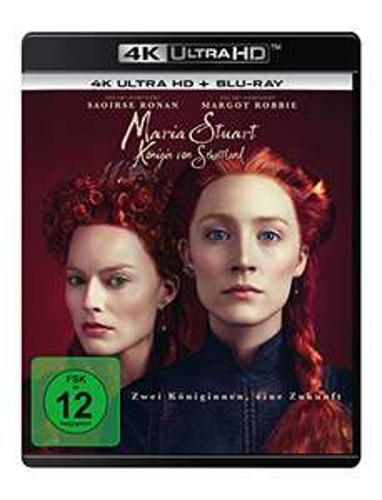 Maria Stuart, Königin von Schottland (4K Ultra HD + Blu-ray 2D) [AMAZON]