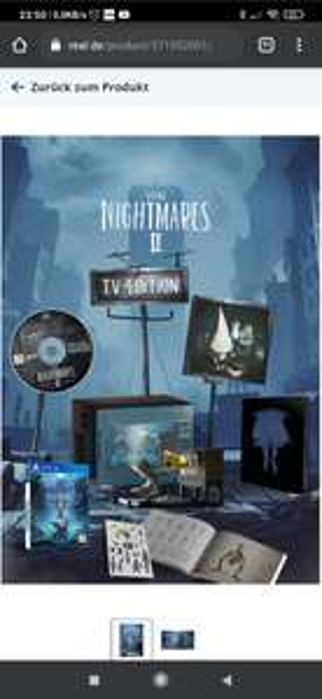 Little Nightmares II - TV Edition Nintendo Switch Game