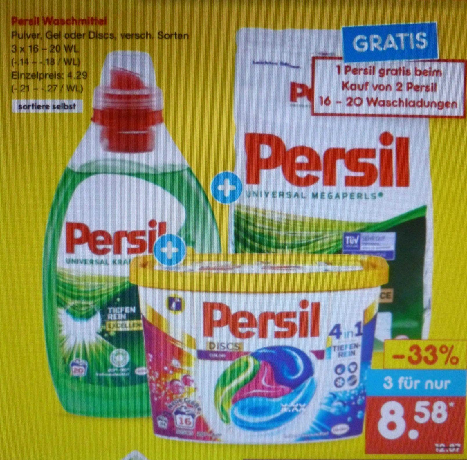 Persil Megaperls 3 kaufen - 2 zahlen