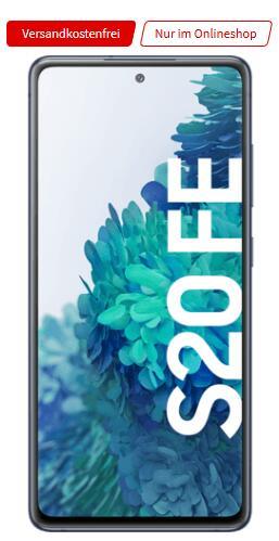 Samsung Galaxy S20 FE 128GB alle Farben + Samsung Galaxy Watch Active 40mm im Vodafone MD green LTE 10GB für 49€ einmalig, 19,99€ monatlich