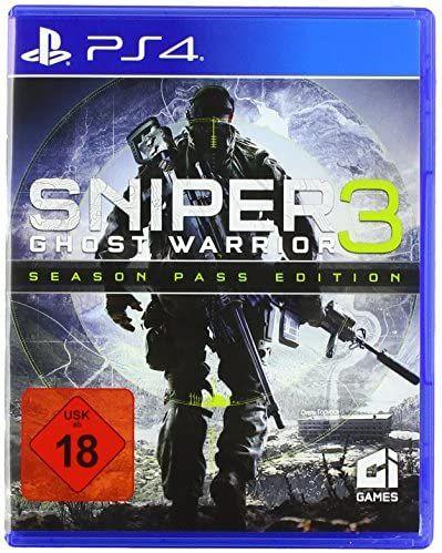 Sniper: Ghost Warrior 3Season Pass Edition (PS4) [Amazon]