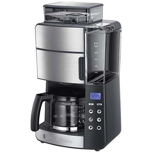Russell Hobbs Filterkaffeemaschine für Kaffeebohnen Grind&Brew 25610-56
