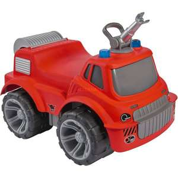 [Saturn Abholung/Amazon] BIG POWER-WORKER MAXI, Fire Truck Spielfahrzeug Rot, 2 Liter Wassertank, max. 50 kg