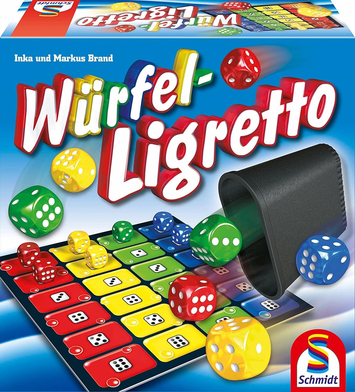 [Amazon Prime] Schmidt Spiele 49611 Würfel-Ligretto, Würfelspiel für 10,92€