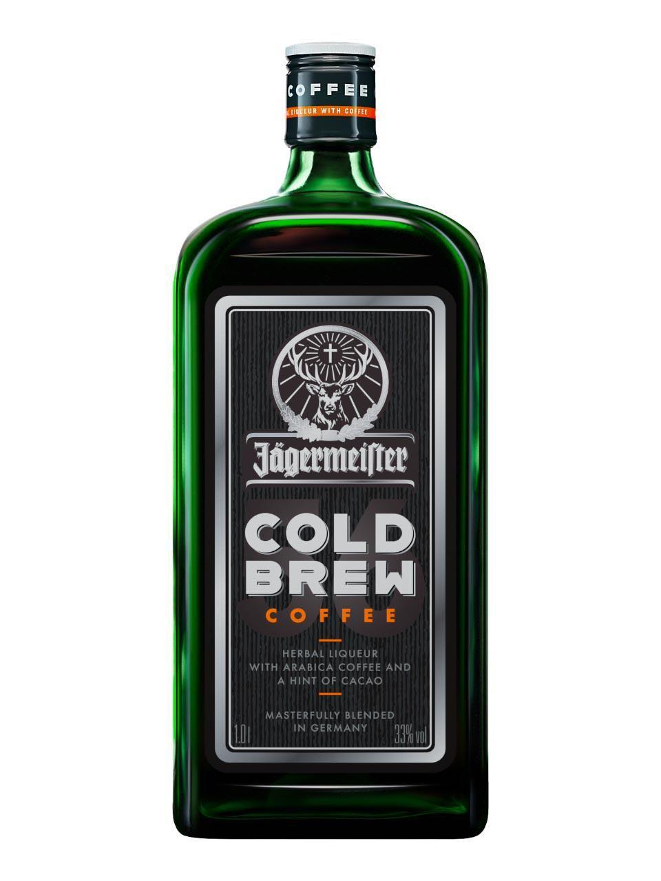 2 Flaschen je 1L Jägermeister Cold Brew Coffee 33% (22,41€/l)
