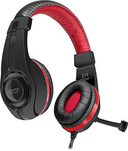 (Prime / Saturn) Speedlink LEGATOS Stereo Headset - Gaming Headset/Kopfhörer für Playstation 4 Controller - schwarz