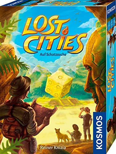 (Prime / Saturn) KOSMOS 691189 - Lost Cities - Auf Schatzsuche, spannendes Würfelspiel für 2 bis 4 Spieler, ab 10 Jahren