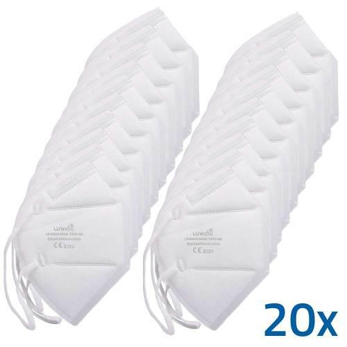 60 Stück FFP2-Masken von Luyao [Apothekenware] - Stück: 0,55 Euro