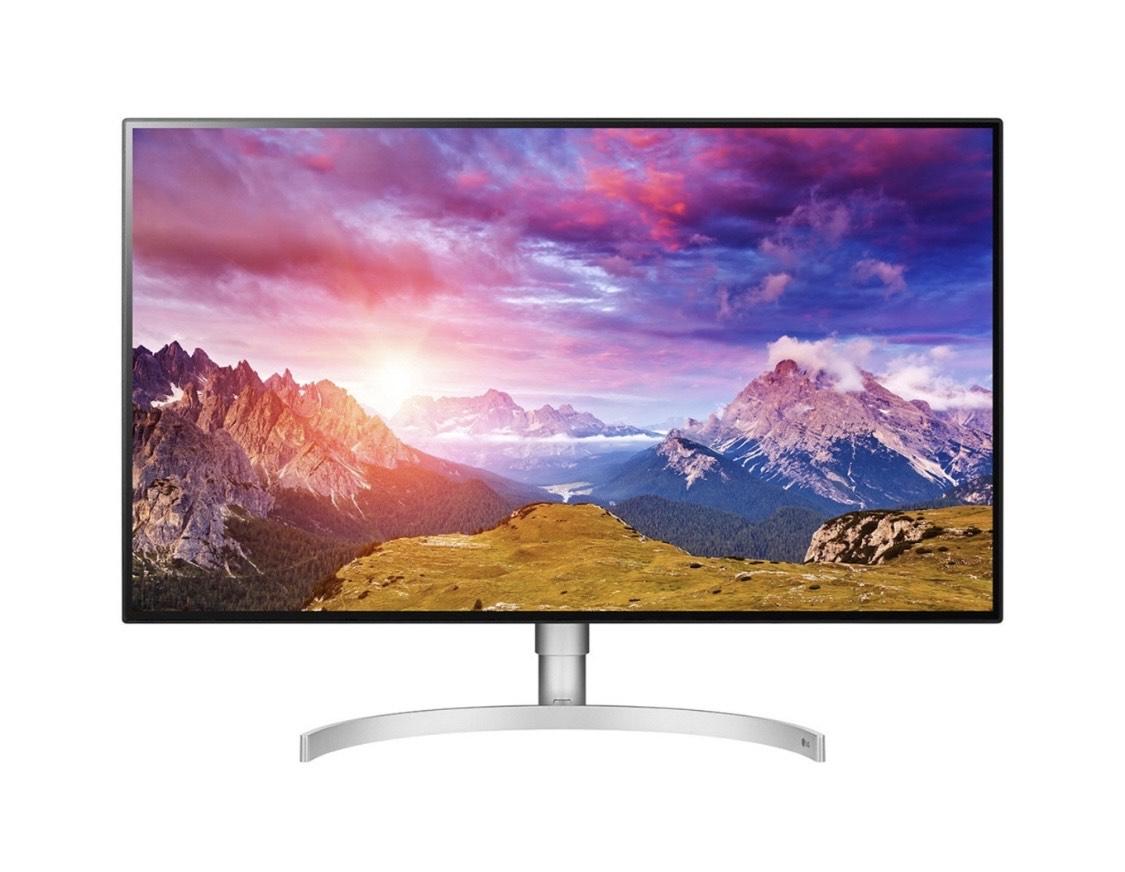 LG 32UL950-W | 4K IPS Monitor mit HDR, Thunderbolt 3 & DaisyChain