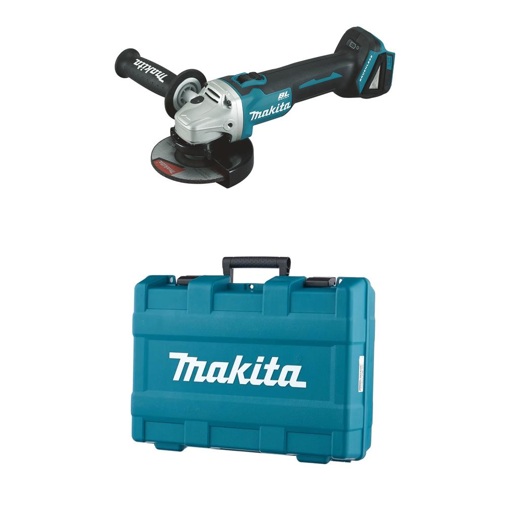 Makita DGA504ZK im Koffer - Akku Winkelschleifer 18 V, Akku ist nicht inbegriffen!