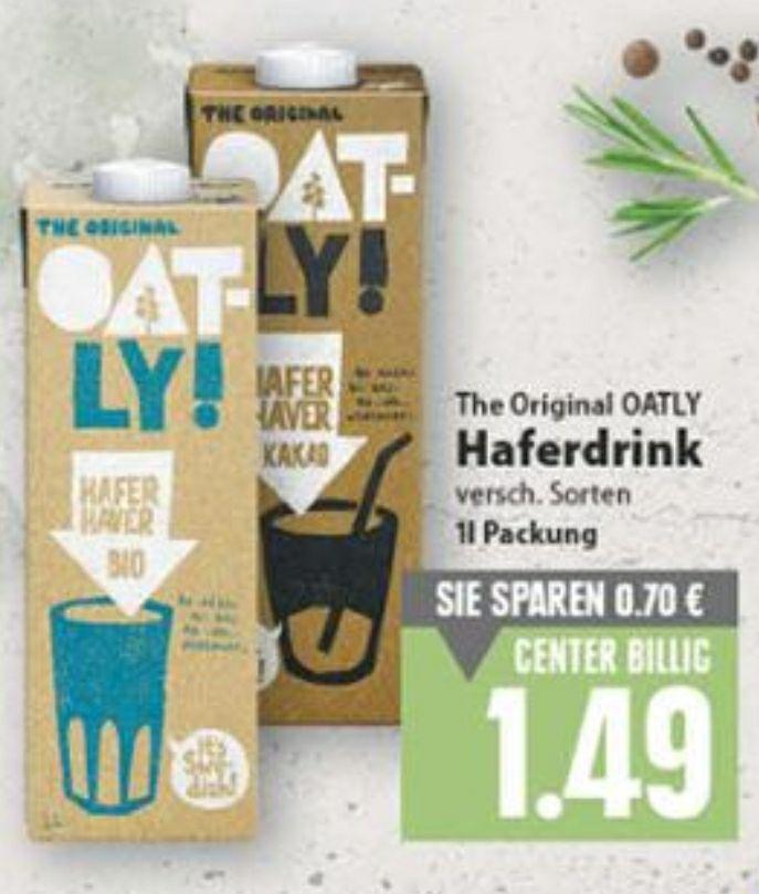 Oatly Haferdrink für 1,49€ bei EDEKA [Minden-Hannover]