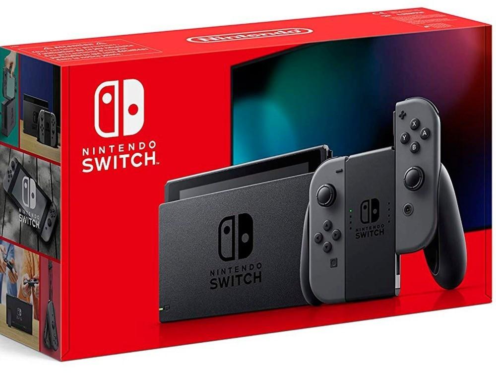NINTENDO Switch Konsole grau neue Edition für 282,99€ inkl. Versandkosten