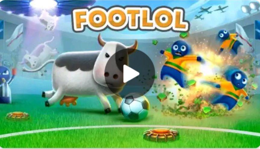 FootLOL: Crazy Soccer! Action Fooball game