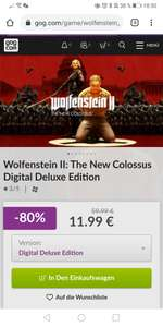 Wolfenstein II The New Colossus Digital Deluxe Edition (GOG)