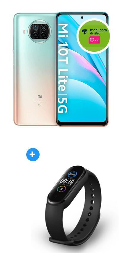 Xiaomi Mi 10T Lite 128GB und Band 5 im Debitel Telekom (18GB LTE, Allnet/SMS, VoLTE) mtl. 22,99€ einm. 29€ | keine AG