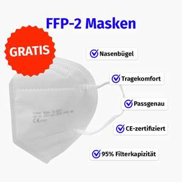 1x FFP2 Maske bei Babboo.Shop