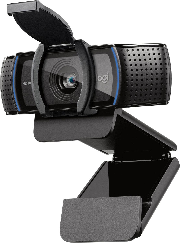 Logitech C920s HD Pro Full HD-Webcam 1920 x 1080 Pixel, 1280 x 720 Pixel Klemm-Halterung