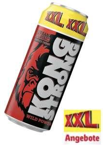 XXL Woche bei Lidl: Kong Strong XXL Dose 0,5l versch. Sorten für 0,39€ und weitere XXL Angebote