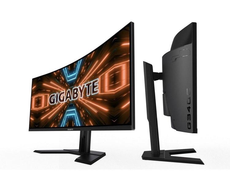 Gigabyte G34WQC Curved Gaming Monitor »86,4 cm (34) UWQHD, 1 ms«