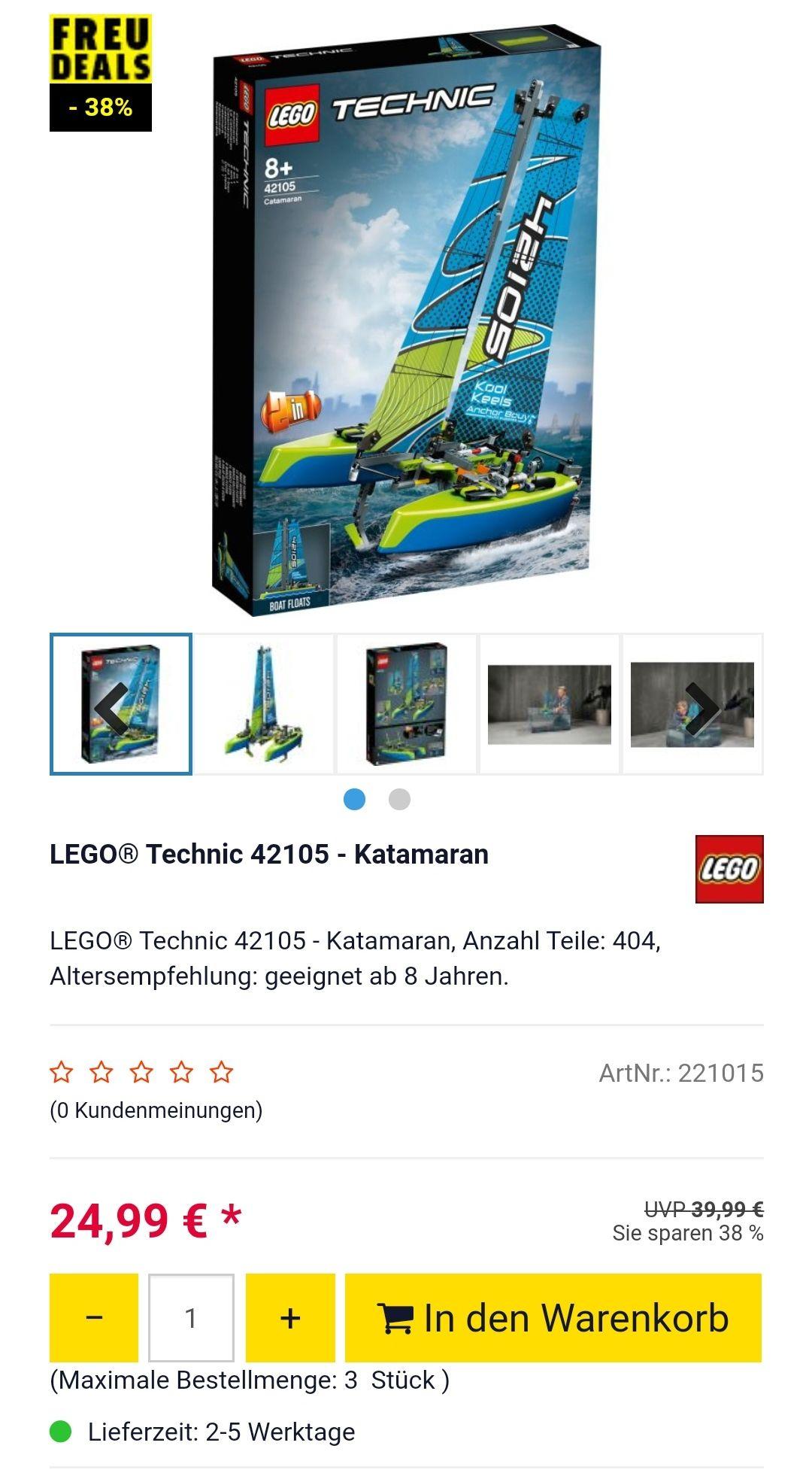 Lego Technic 42105 - Katamaran