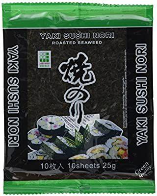 [Amazon Prime] 50 Nori-Blätter von JHFoods für Sushi