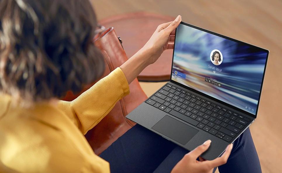 "Dell XPS 9310, Notebook 13,4"" FHD+, Core i7 1185G7, 16 GB RAM, 512 GB SSD, Intel Iris Xe Grafik, Platinsilber/Schwarz"